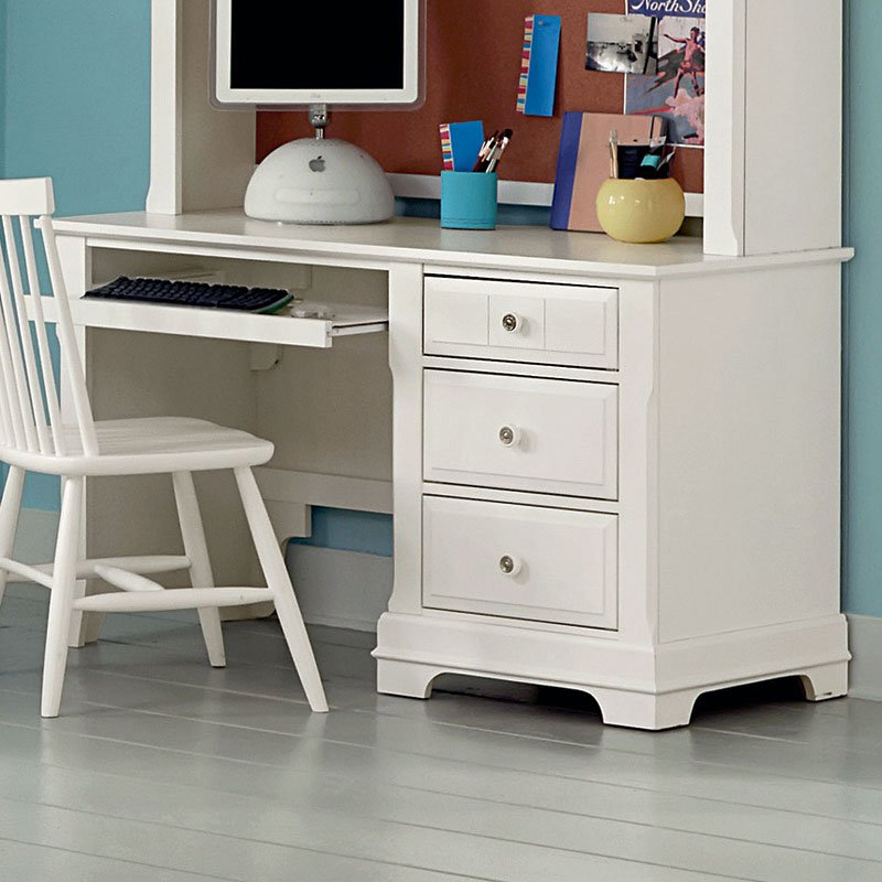 Cottage Youth Panel Bedroom Set Snow White Vaughan