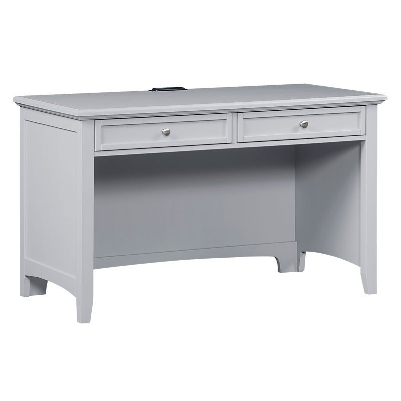 Bonanza Desk w/ Power Pack (Gray)