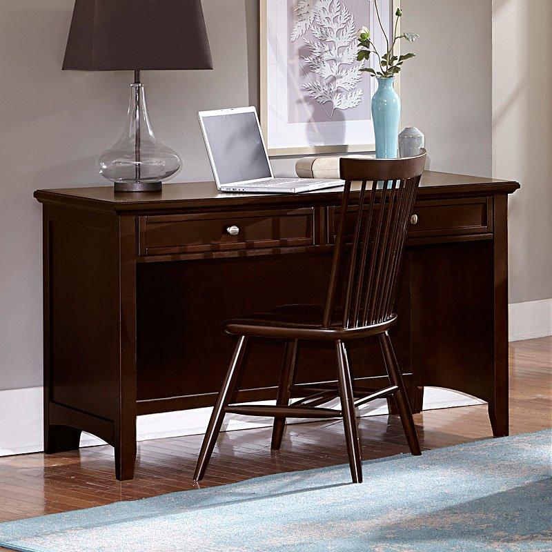 Bassett Furniture Headquarters: Bonanza Home Office Set (Merlot) Vaughan Bassett
