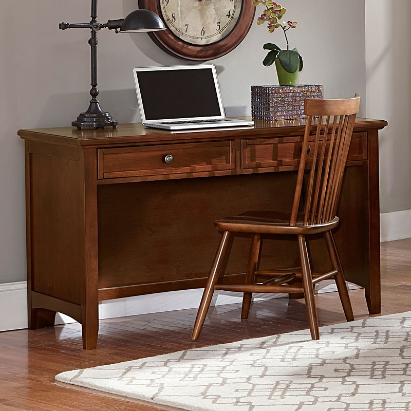 Bassett Furniture Headquarters: Bonanza Home Office Set (Cherry) Vaughan Bassett