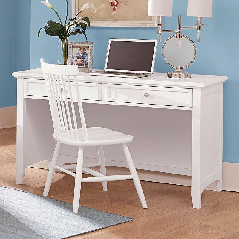 Bonanza Home Office Set (White) Vaughan Bassett