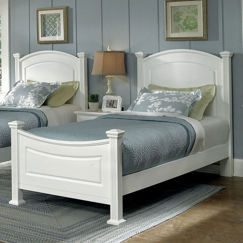 Vaughan Bassett Bedroom Furniture Reviews: Hamilton Franklin Youth Panel Bedroom Set (Snow White