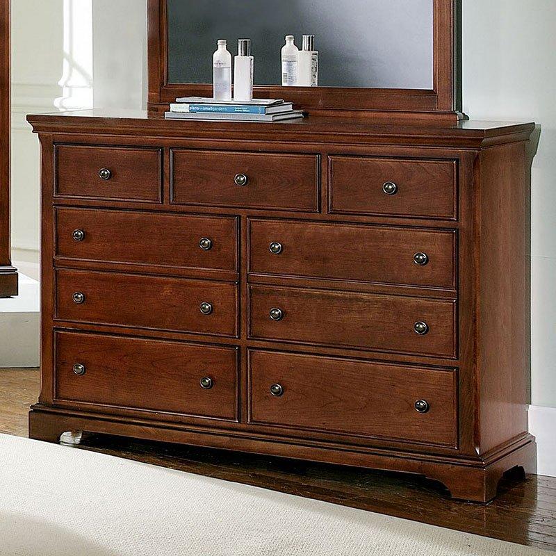 Forsyth 7-Drawer Dresser (Cherry) Vaughan Bassett, 1