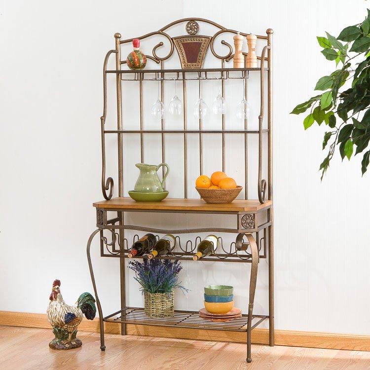 Decorative Wine Rack w/ Wine Storage
