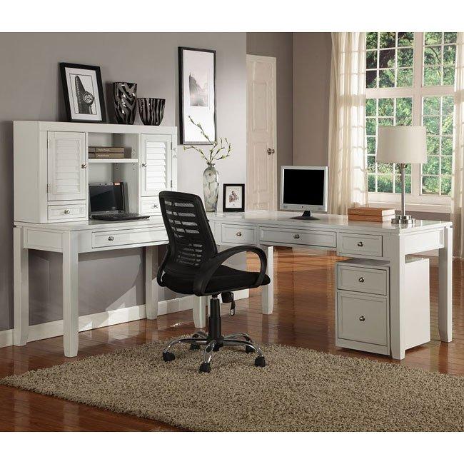 Boca Home Office Set W/ Leg Desks Parker House, 2 Reviews