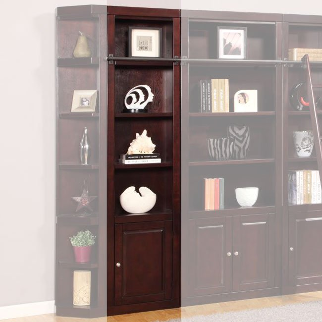 Boston 22 Inch Open Top Bookcase