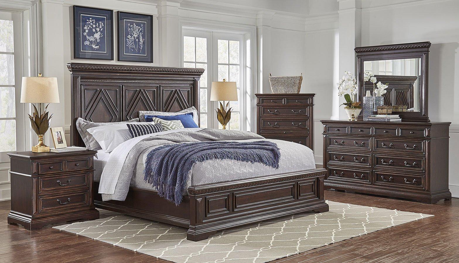 Castle panel bedroom set oasis home furniture cart for Ashton castle bedroom set by ashley