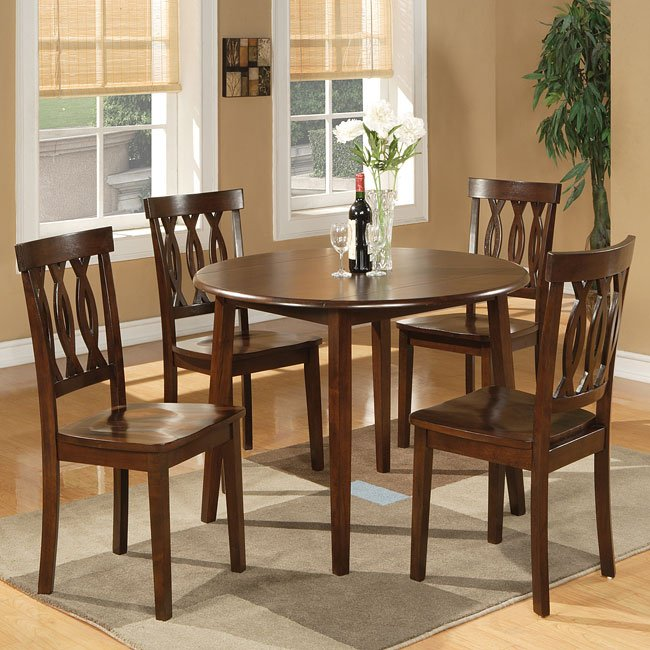 Branson Espresso Dinette w/ Richmond Chairs