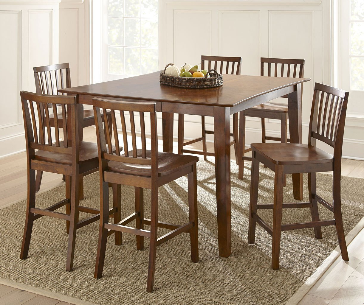 Counter Dining Room Sets: Branson Counter Dining Room Set Steve Silver Furniture