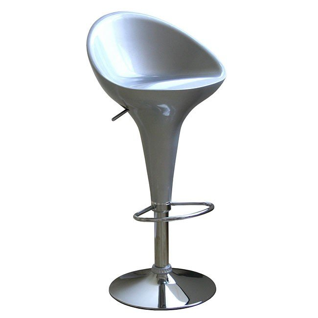 Kappa Bar Stool (Silver) (Set of 2)
