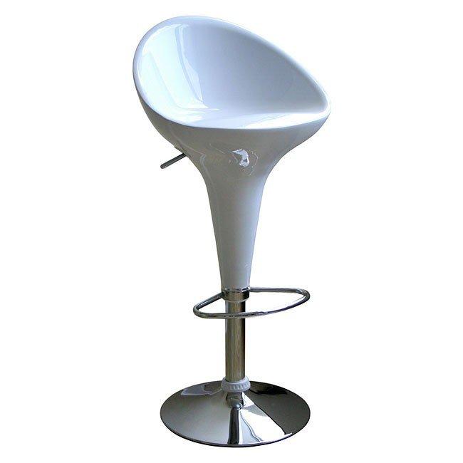 Kappa Bar Stool (White) (Set of 2)