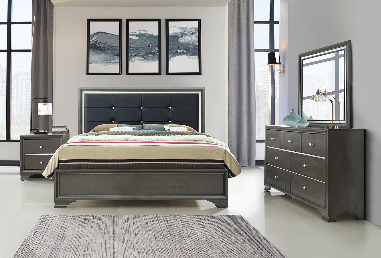 Cameron Bedroom Set Global Furniture Furniture Cart