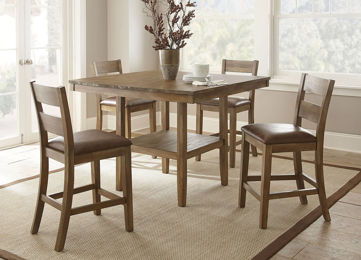 Cambrey Counter Height Dining Room Set