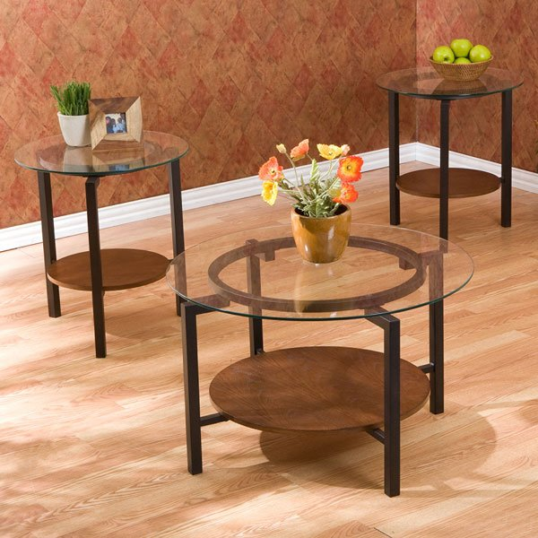 Tyler 3 pc Coffee / End Table Set