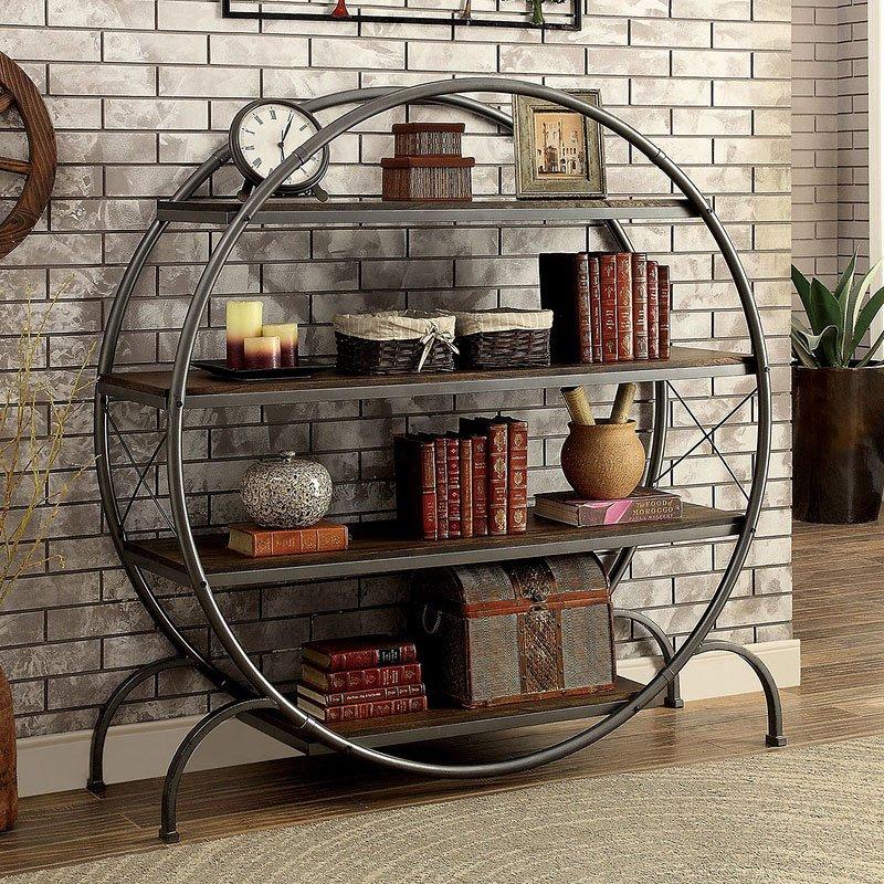Sariya Circular Bookshelf
