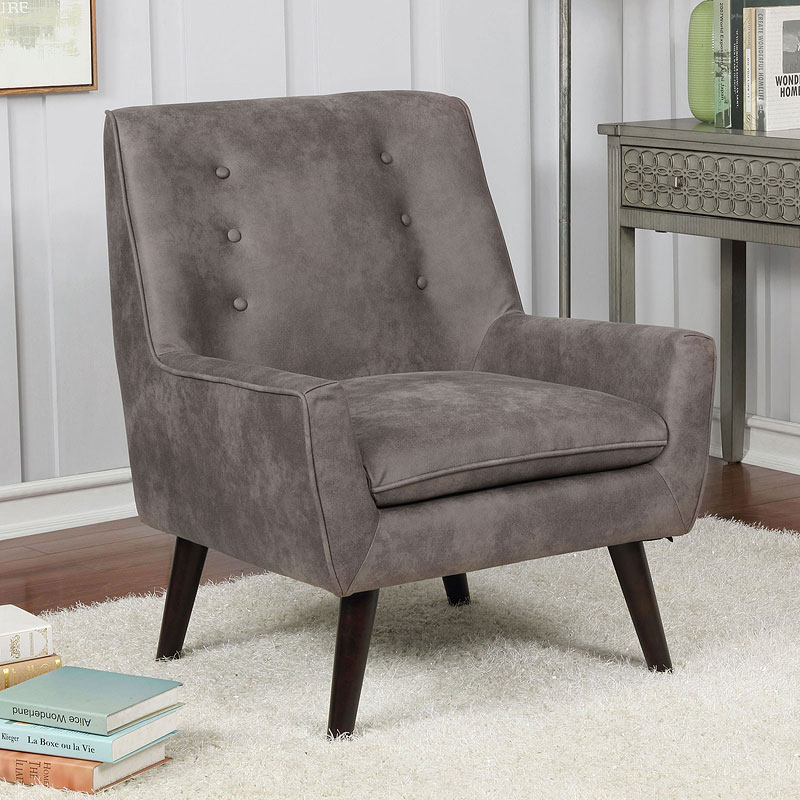 Ellery Accent Chair Brown Furniture Of America
