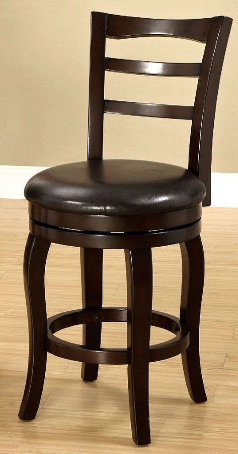 Southland 24 Inch Swivel Bar Stool Espresso Furniture Of