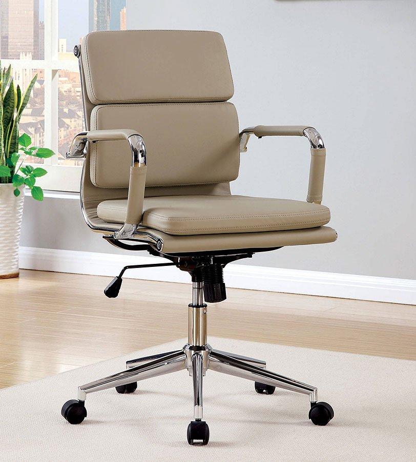 Mercedes Low Back Office Chair Mocha