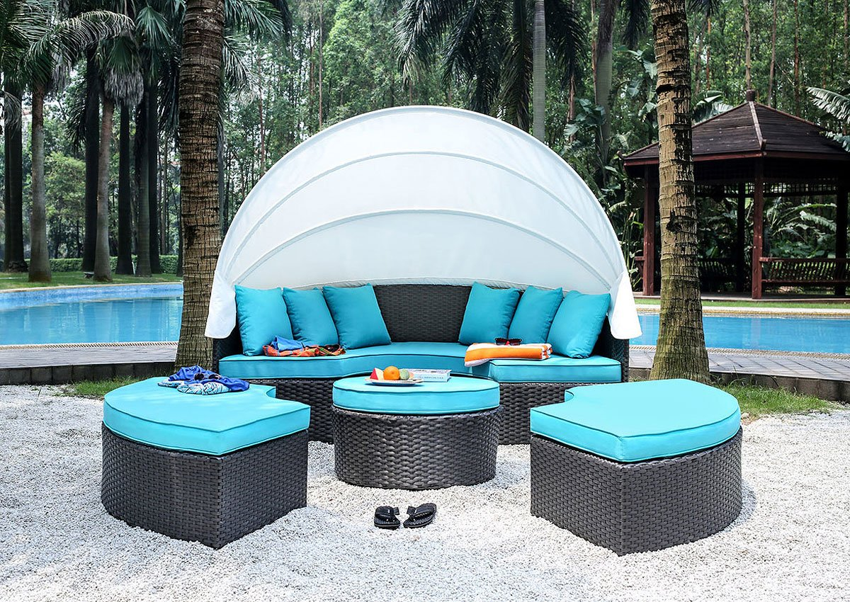 Aria Modular Patio Canopy Daybed