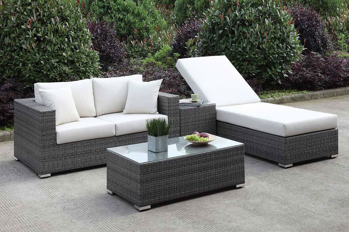 Somani Outdoor Seating Set (Configuration 23)