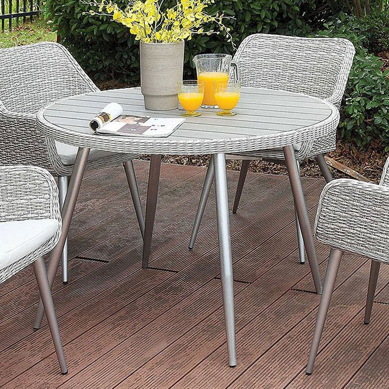 Shivani Round Outdoor Dining Table