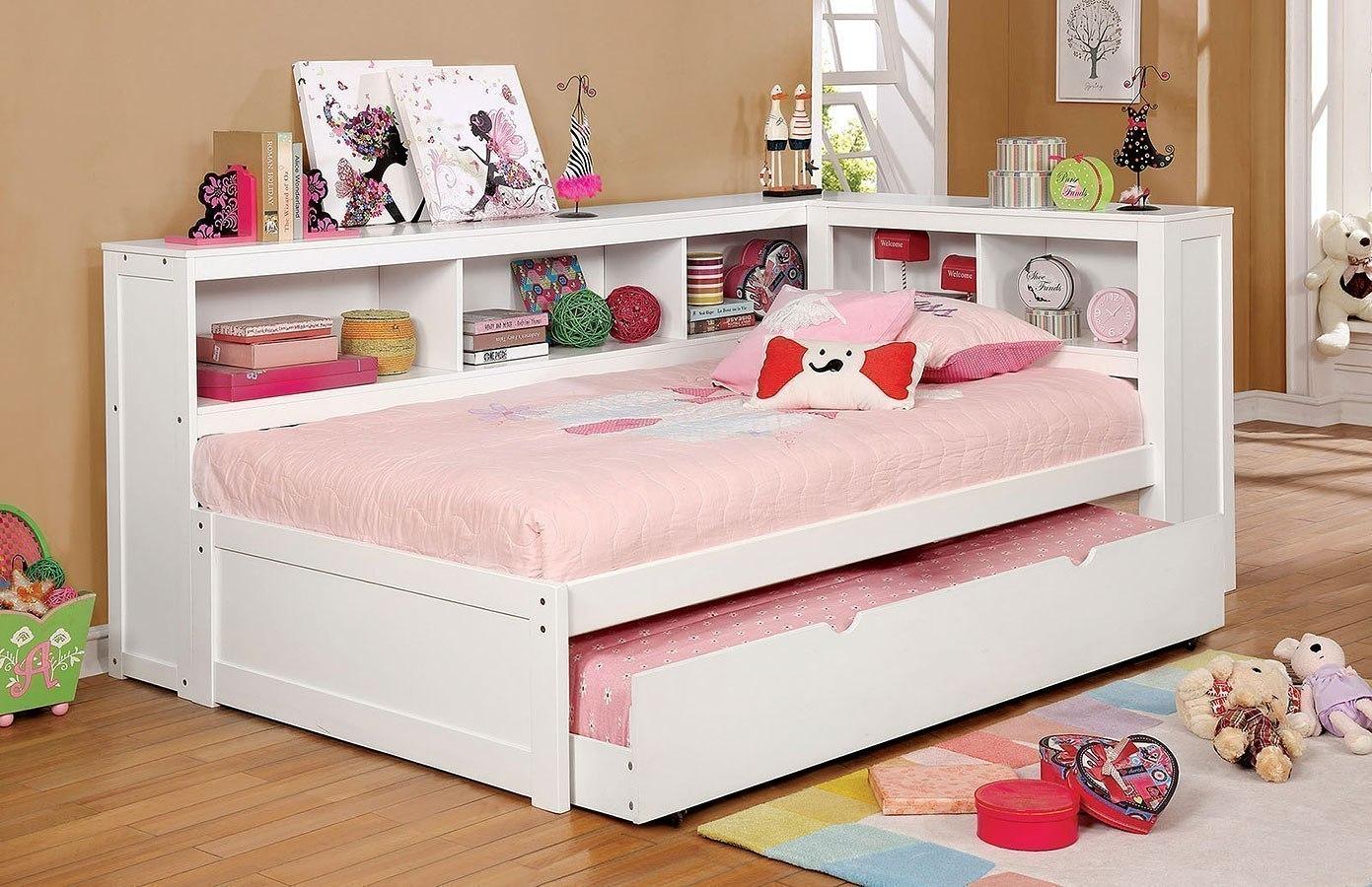 Frankie Daybed Bedroom Set White Furniture Of America Furniture Cart