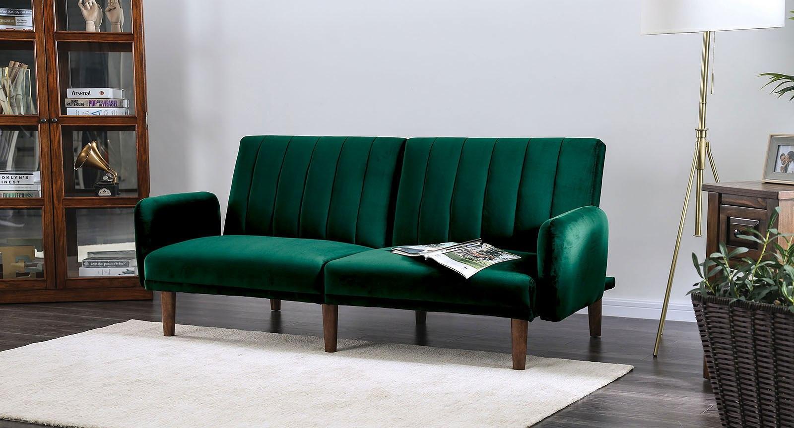 Adrianne Futon Sofa (Green)
