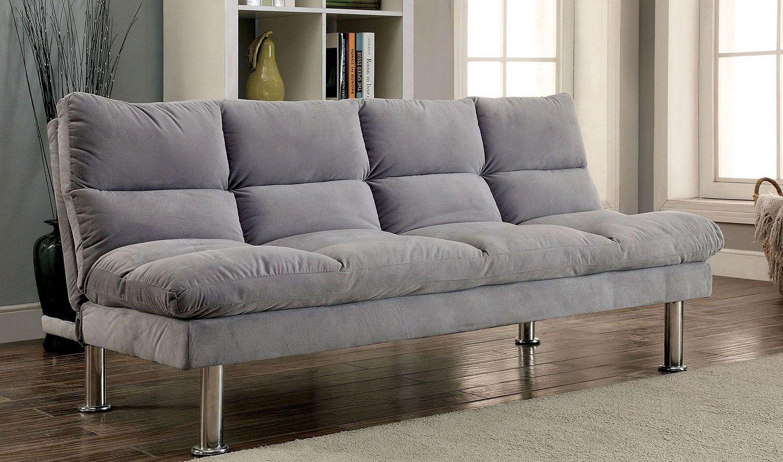 Saratoga Futon Sofa (Gray)