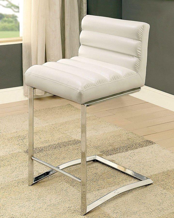 Furniture Of America Lennart Ii White Panel Bedroom Set: Livada II Counter Height Dining Set (White) Furniture Of