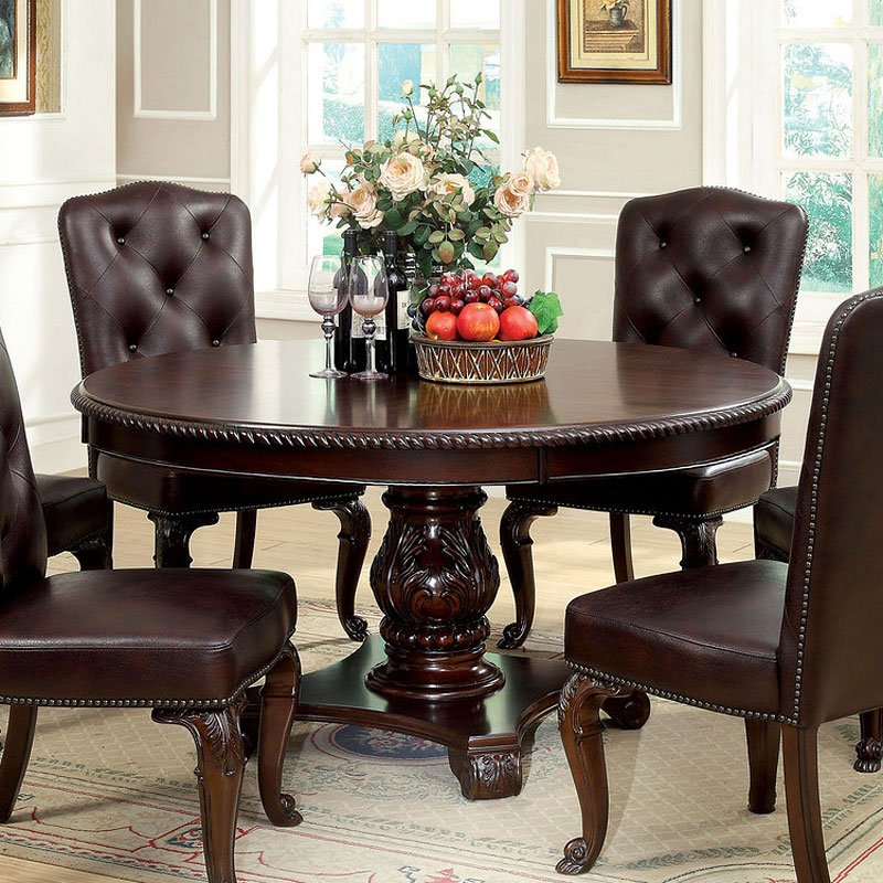 Bellagio Round Dining Room Set Furniture Of America