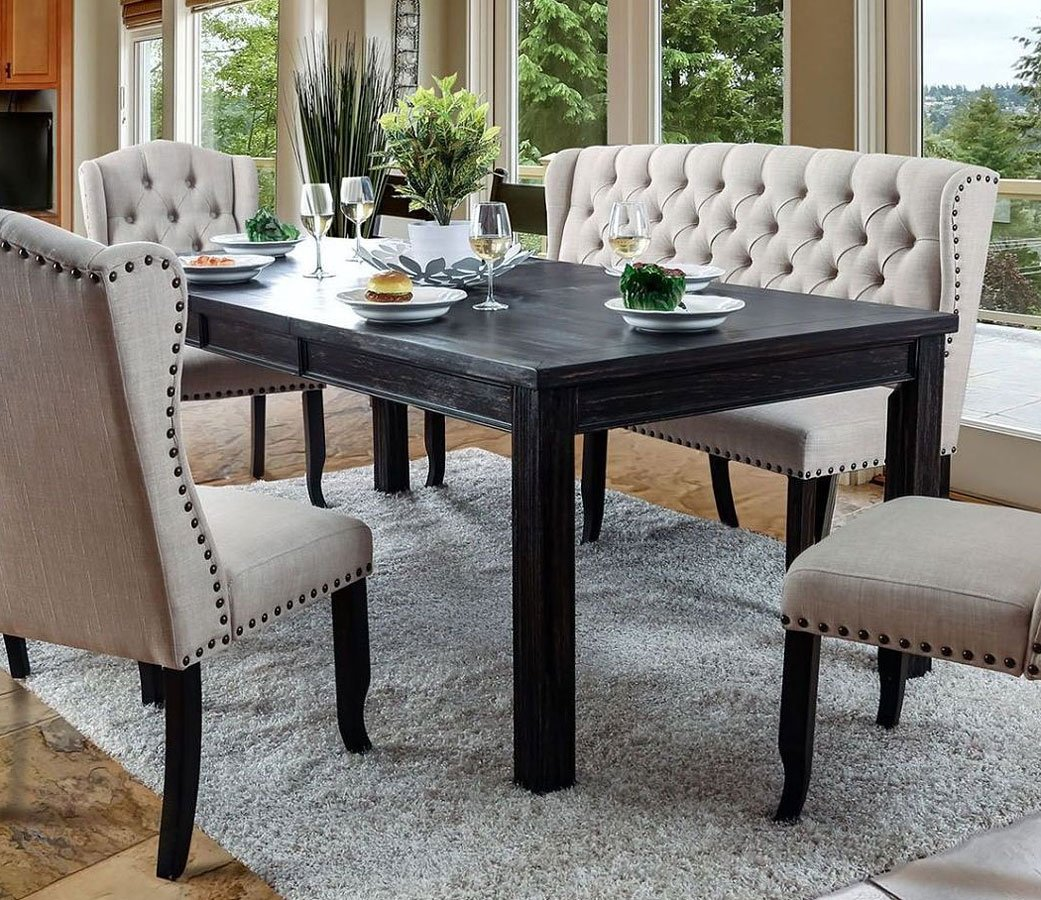 Sania I 84 Inch Dining Table