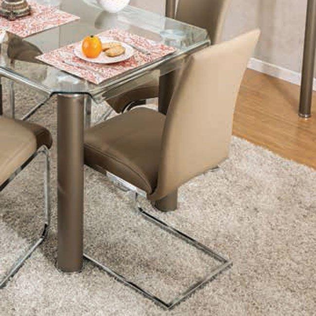 Champagne Dining Room Furniture: Walkerville I Dining Room Set (Champagne) Furniture Of