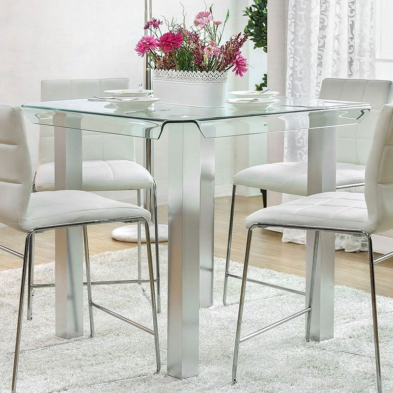 American Backyard Furniture North Point Mall: Richfield II Counter Height Table Furniture Of America