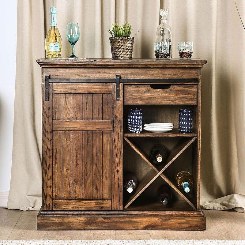 Mandy Wine Cabinet (Oak)