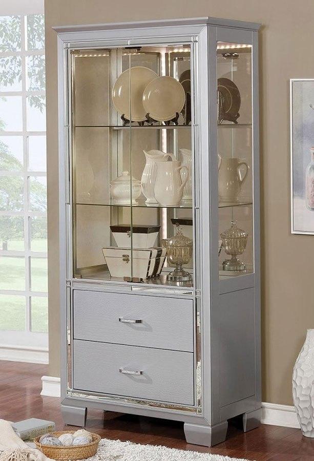 Merveilleux Alena 36 Inch Curio Cabinet