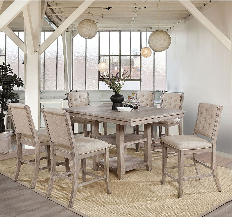 Ledyard Counter Height Dining Room Set