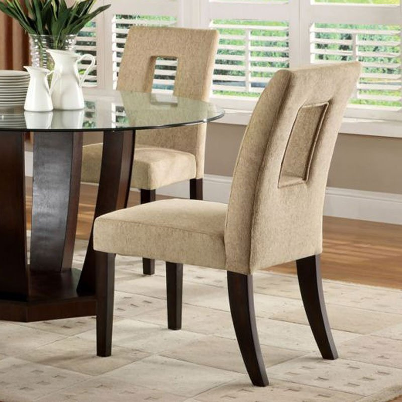 West Palm I Round Dining Room Set Furniture Of America