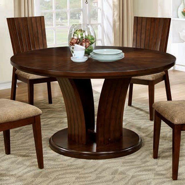 Furniture Montreal: Montreal I Round Dining Table Furniture Of America
