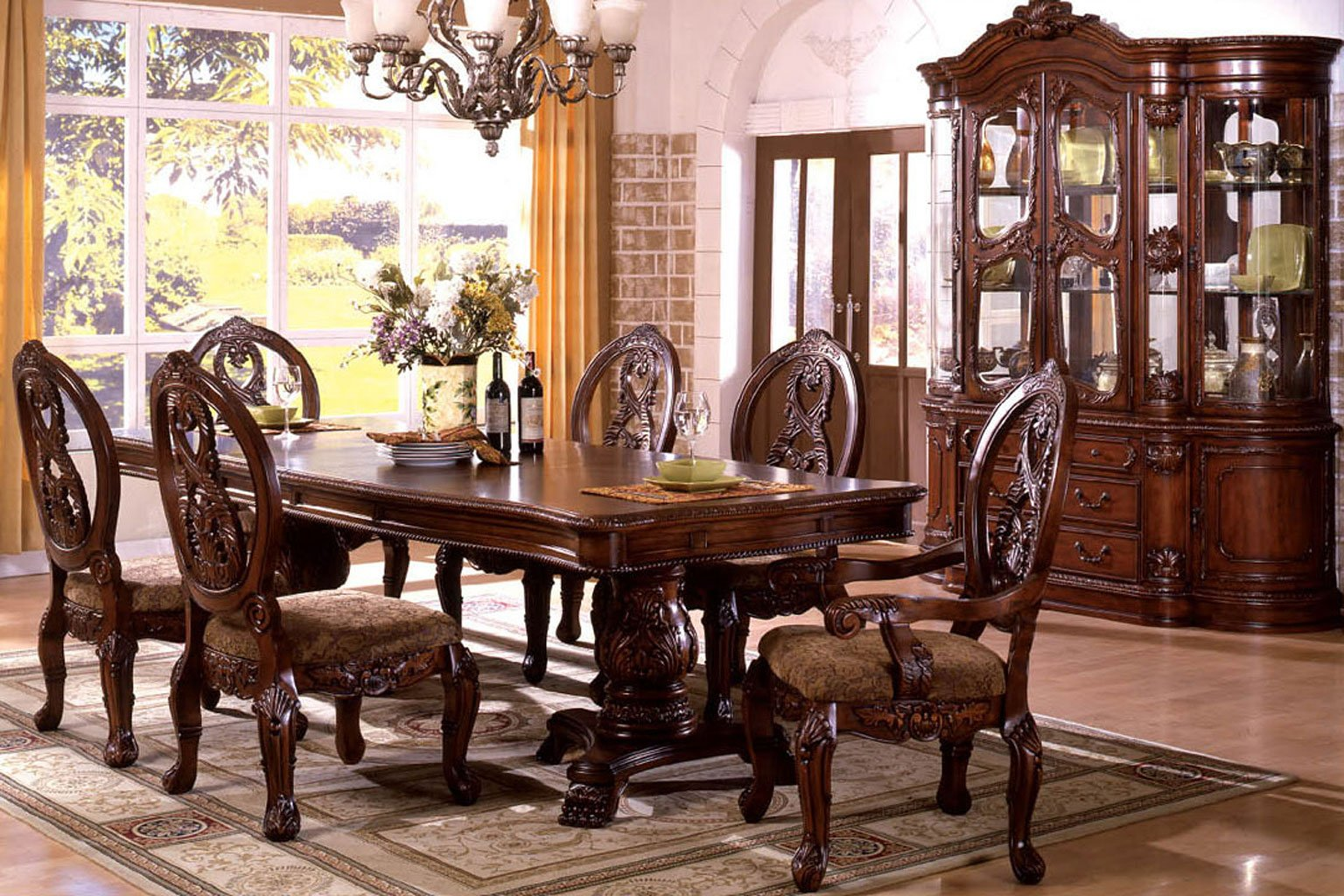 Wtsenates Best Ideas Tuscan Dining Room Set Collection 6609