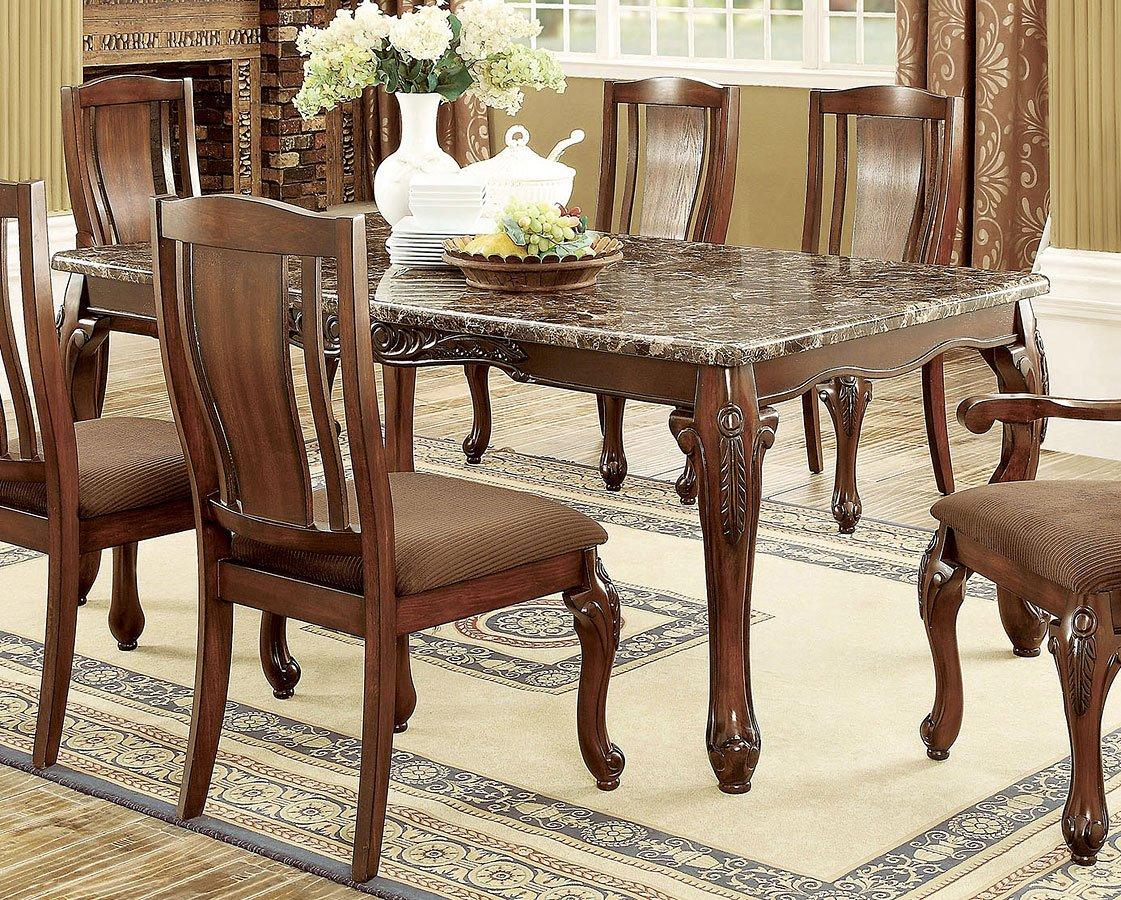 Johannesburg i dining table furniture of america