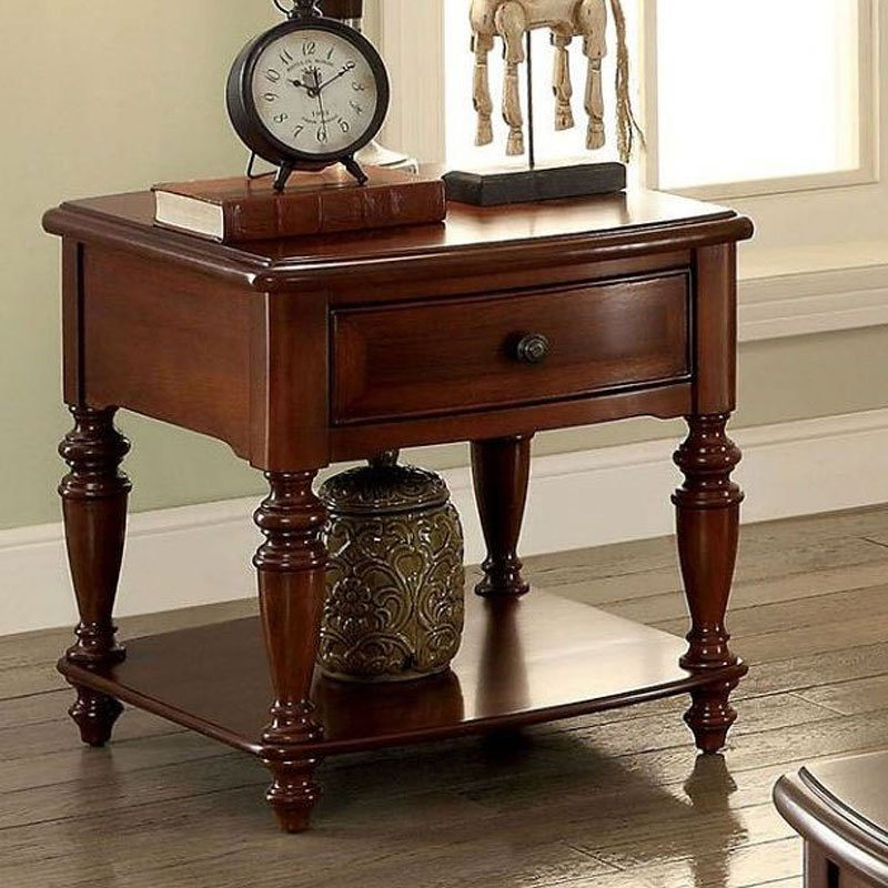 Samira End Table Furniture Of America Furniture Cart