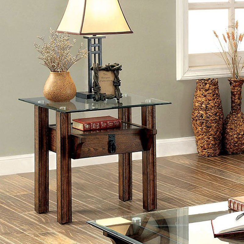 Penny Furniture: Penny End Table Furniture Of America