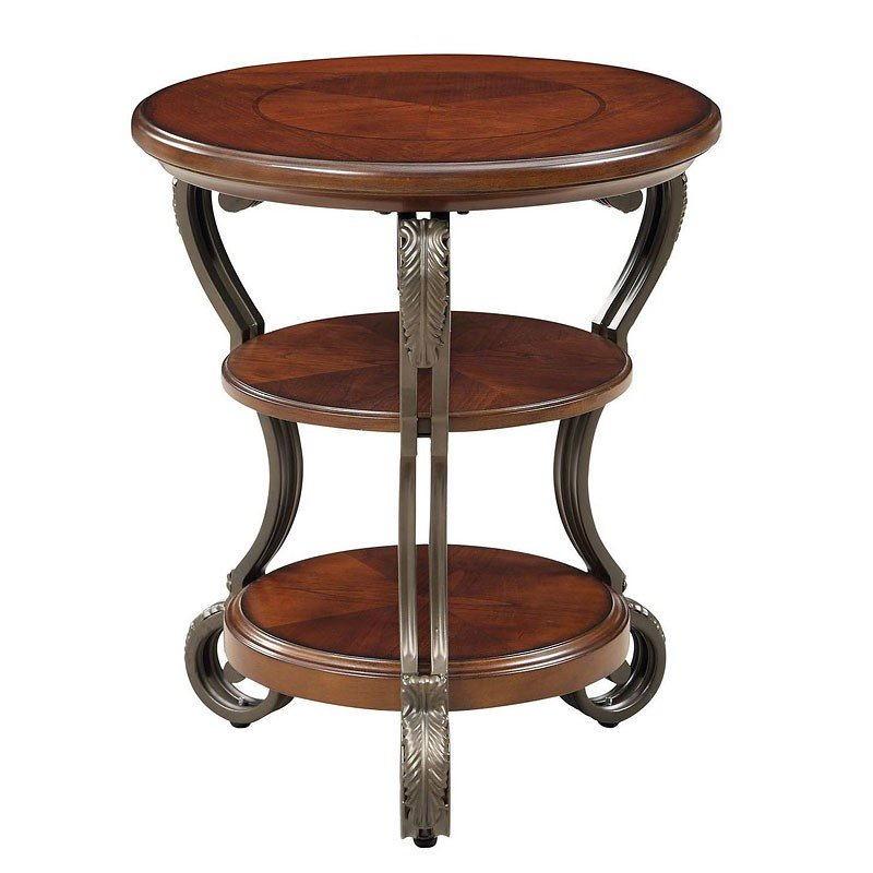 Mays Furniture: May Side Table Furniture Of America