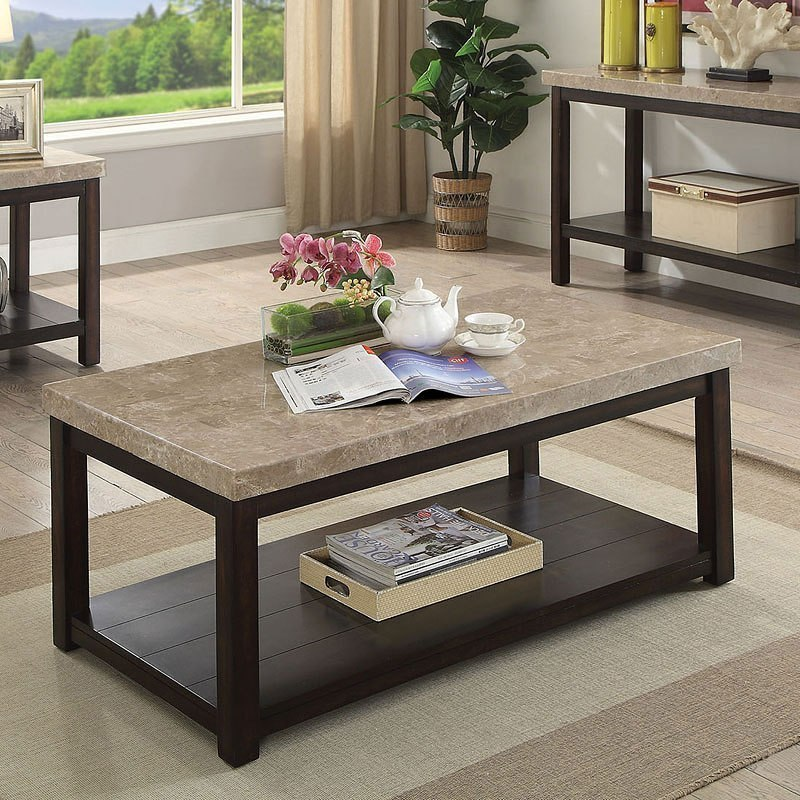Calgary Coffee Table Furniture Of America