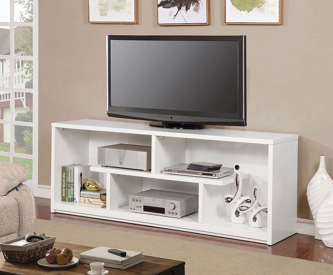 Lommel 60 Inch Tv Stand White