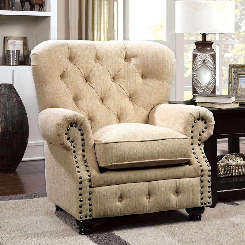 Stanford Chair Ivory Furniture Of America Furniture Cart