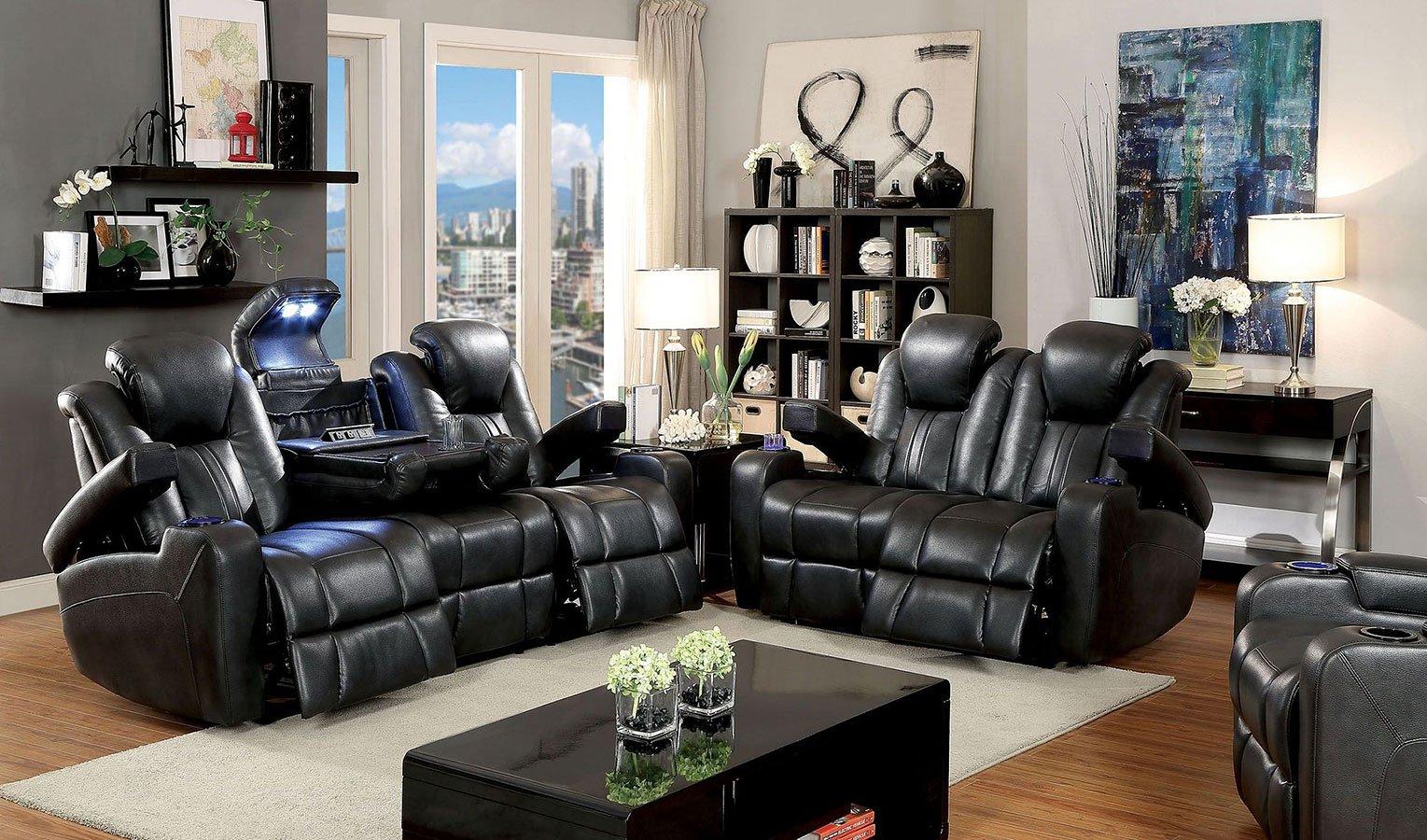 Zaurak Power Reclining Living Room Set