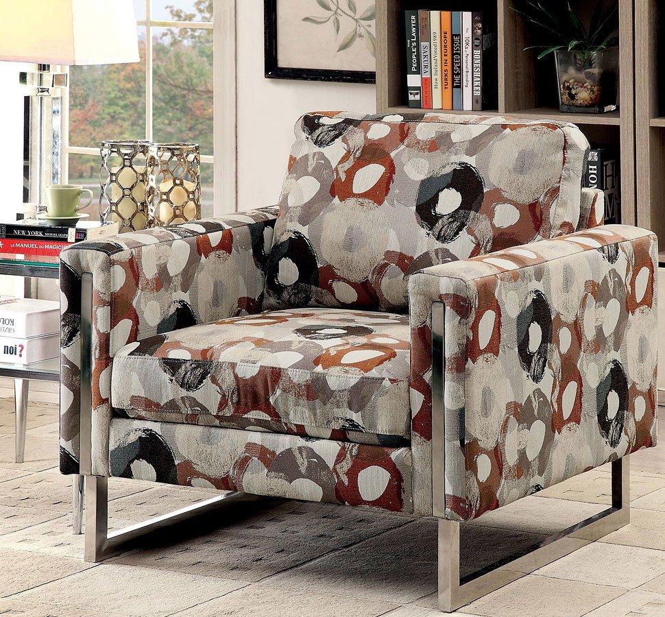 Lauren Accent Chair Furniture Of America Furniture Cart