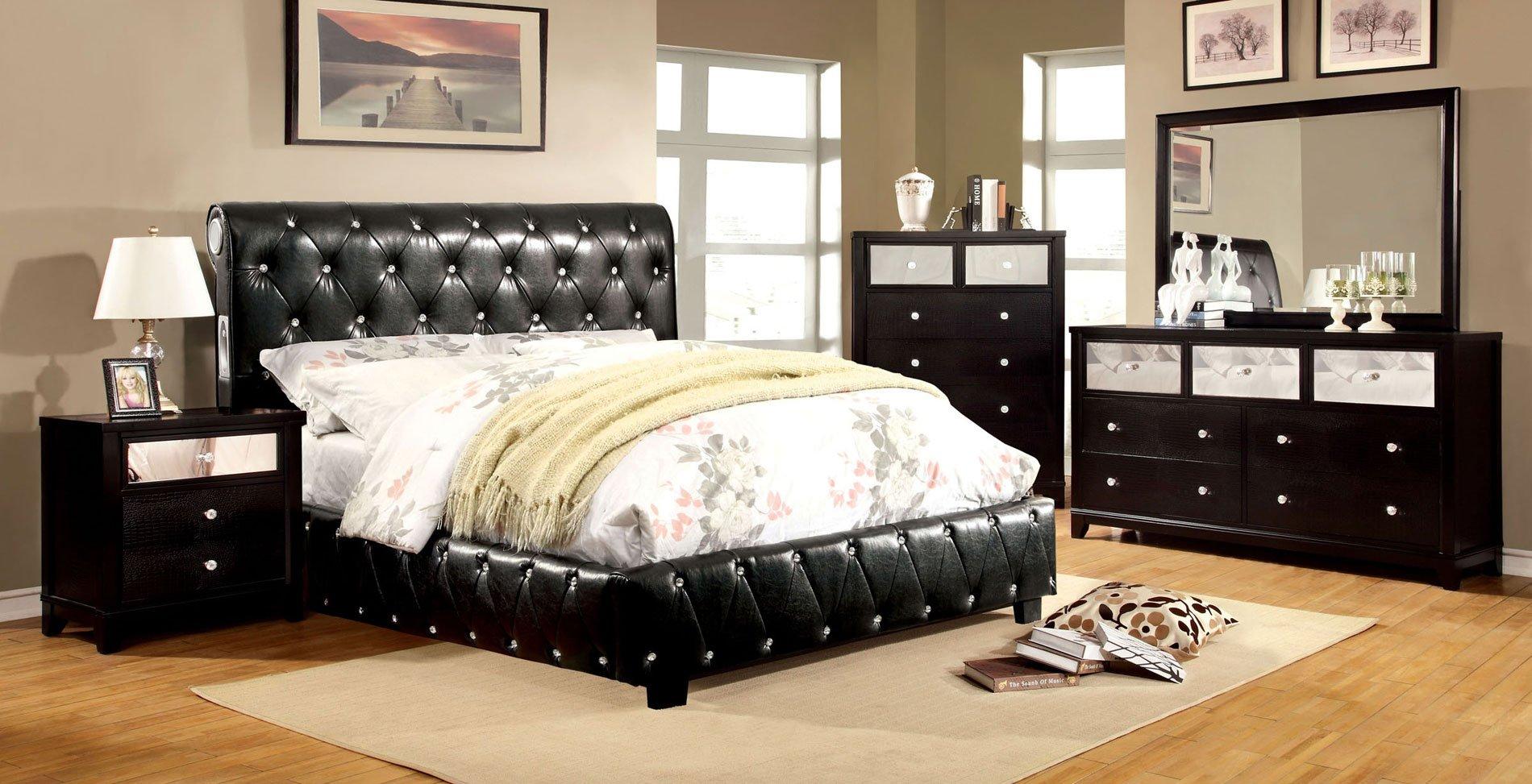 Bryant Bedroom Set W Juilliard Bed Black Furniture Of