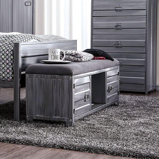 Mccredmond Youth Metal Bedroom Set Furniture Of America